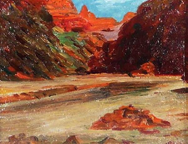 Eldridge Burbank Painting