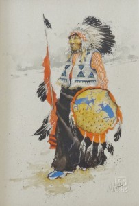 Untitled – Native American Chief