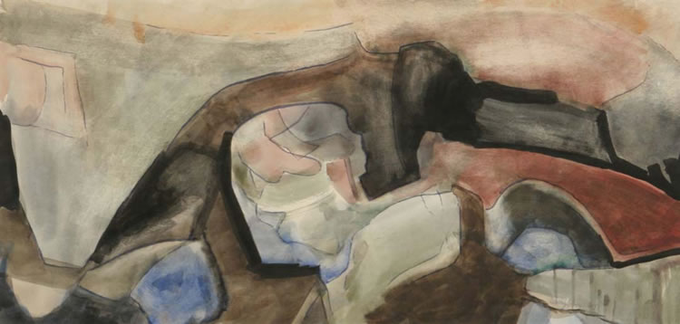 William Lumpkins abstract-watercolor